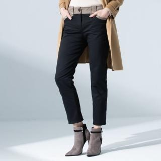 【FIORE 花蕾】時尚個性大褲耳窄管長褲