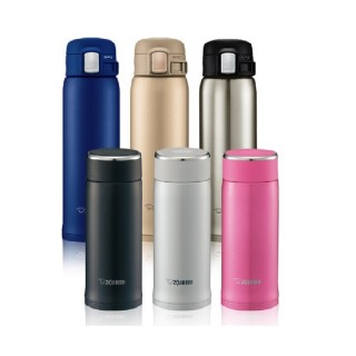 【象印-買大送小】不鏽鋼保溫杯480ml+360ml(SM-LB36+SM-SD48MM)