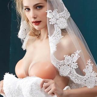 【mystic 神秘者】女內衣 隱形內衣 NU BRA 高黏度3D立體矽膠隱形內衣(均厚經典款 附肩帶)