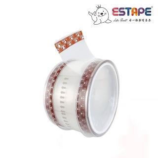 【ESTAPE】抽取式OPP封口透明膠帶|貓爪(36mm x 55mm/易撕貼)