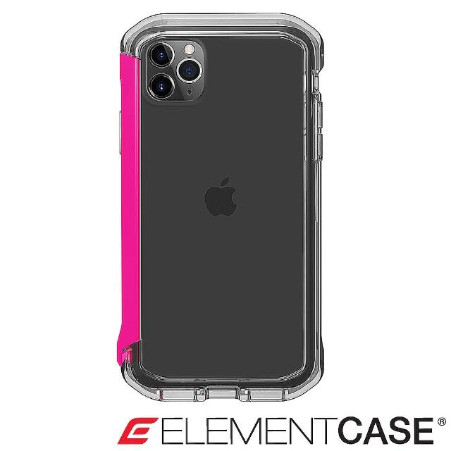 【Element Case】iPhone 11 Pro Max Rail(神盾軍規殼 - 晶透粉)