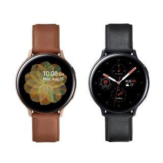 【SAMSUNG 三星】Galaxy Watch Active2 GPS藍牙智慧手錶 不鏽鋼 44mm(R820)