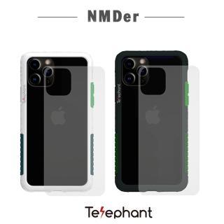 【太樂芬Telephant】iPhone 11 Pro抗汙防摔手機殼-軍綠(iPhone 11 Pro 5.8吋)