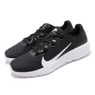 【NIKE 耐吉】慢跑鞋 Explore Strada 運動 男鞋 輕量 透氣 舒適 避震 球鞋 穿搭 黑 白(CQ7626-002)