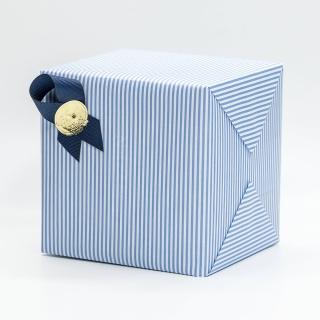 禮物包裝(藍色條紋款)