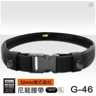 【GUN】硬式插扣尼龍腰帶#G-46(32 mm)