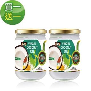 【Natures 娜萃斯】買一送一-冷壓初榨椰子油(500ml*2入)