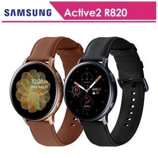 【SAMSUNG 三星】Galaxy Watch Active2 鋼44mm智慧手錶手錶 SM-R820