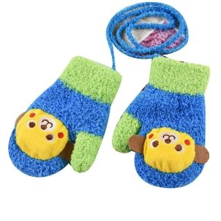 【Baby 童衣】任選 兒童保暖手套88246(小猴天藍)