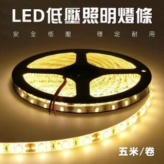 【君沛】1入組 led燈帶 5米 燈條 12V 5630 裸版 經濟款 led燈條 室內照明 led燈具(室內裝潢 室內燈 燈飾)