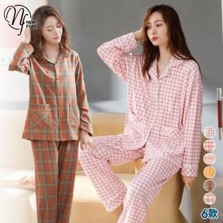 【NEW FORCE】甜美長袖套裝居家服-5款可選(睡衣/女套裝/長袖套裝/流行睡衣)