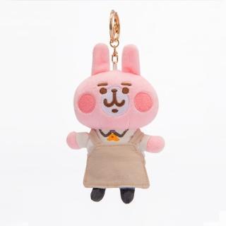 【台灣高鐵】高鐵聯名絨毛鑰匙圈-粉紅兔兔服勤員