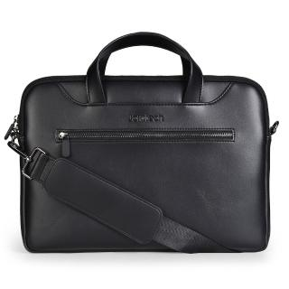 【Jokitech】Macbook筆電包 手提電腦包 公事包 事務包 ipad平板保護包 電腦袋(黑色 13吋 13.3吋)