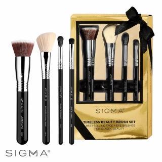 【Sigma】璀璨煥顏極致刷具四件組 Timeless Beauty Brush Set(原廠公司貨-季節限定禮盒)
