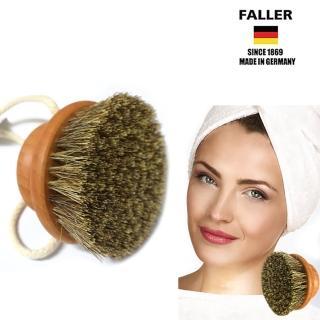 【FALLER 芙樂】德國製 圓形馬毛植纖身體按摩刷(身體放鬆按摩好法寶)