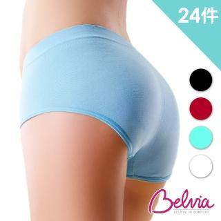 【JML】Belvia貝薇雅無痕3D提臀內褲(超值24件組)