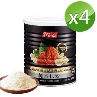 【紅布朗】無糖純杏仁粉(300gX4罐)