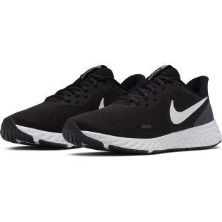 【NIKE 耐吉】慢跑鞋 女鞋 運動鞋 避震 路跑 訓練 REVOLUTION 5 黑 BQ3207-002