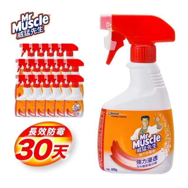 【威猛先生】強力去霉劑噴槍瓶_99.9%除霉殺菌(400gx18入/箱購)/