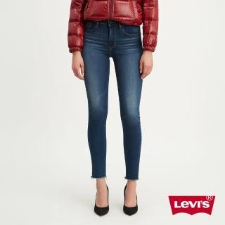 【LEVIS】女款 721 高腰緊身窄管牛仔褲 / 保暖纖維 / 內刷毛 / 彈性布料-熱銷單品