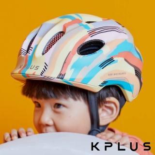 【KPLUS】兒童/青少年休閒運動安全帽 PUZZLE彩色版Talent-純真黃(童車 滑步車 滑板車 淑女車)