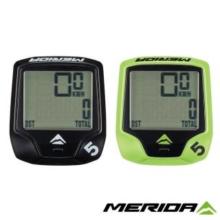 【MERIDA 美利達】5功能有線碼錶 兩色(馬錶/碼表/車錶/單車/自行車)