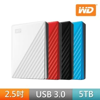 【WD 威騰】New My Passport 5TB 2.5吋行動硬碟(WESN)