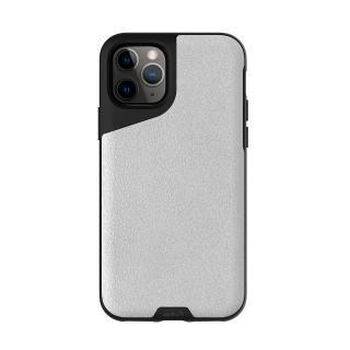 【Mous】Contour 天然材質防摔保護殼-雅白皮革(iPhone 11 Pro Max 6.5吋)