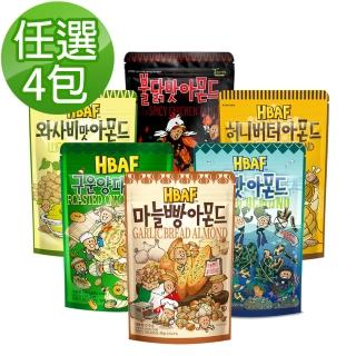 【Toms Farm】韓國湯姆農場杏仁果家庭號210g任選4包組