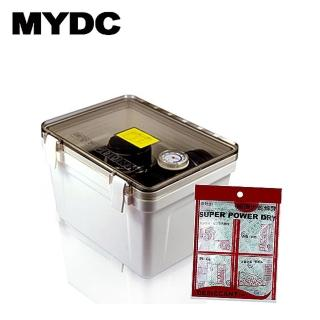 【JOVEN】MYDC MT-076A防潮箱含溼度計(送強力乾燥劑4入)