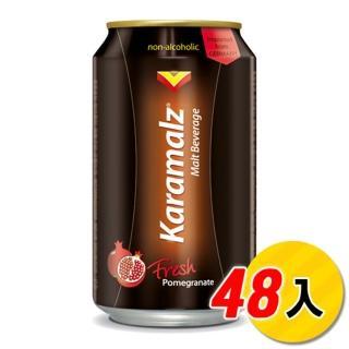【Karamalz 卡麥隆】卡麥隆黑麥汁_紅石榴330mlx24入x2箱(共48入)