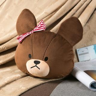 【小熊學校】傑琪熊抱枕被毯