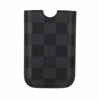 【Louis Vuitton 路易威登】LV Outlet N62669 經典Damier棋盤格手機套