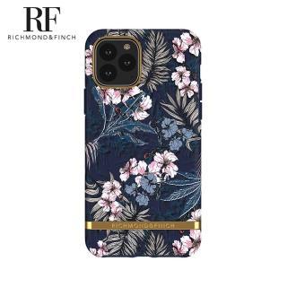 【Richmond&Finch】瑞典手機殼 金線框-花叢林(iPhone 11 Pro Max 6.5吋)