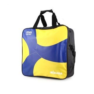 【MIKASA】排球袋-4顆裝 手拿袋 手提袋 肩背袋 收納袋(MKAC-BG240W-YB)