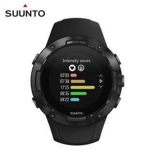 【SUUNTO】Suunto 5 All Black 堅固輕巧質精、絕佳電池續航力的多項目運動GPS腕錶(經典黑)