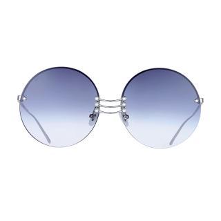 【FOR ARTS SAKE】VERMEER 珍珠大圓框太陽眼鏡(VERMEER 凝視黑)