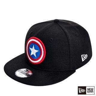 【NEW ERA】9FIFTY 950 童帽 美國隊長 棒球帽(黑/紅)