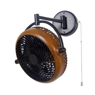 【華燈市】阿拉斯加 8吋 VIVI折疊循環扇-胡桃木色