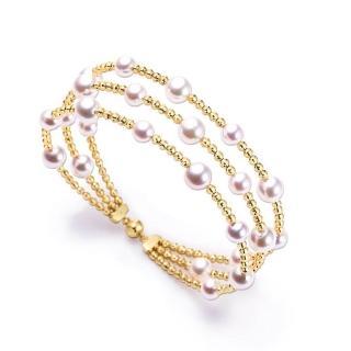 【光彩鑽石】日本18k金Akoya珍珠手環(Akoya珍珠手環)