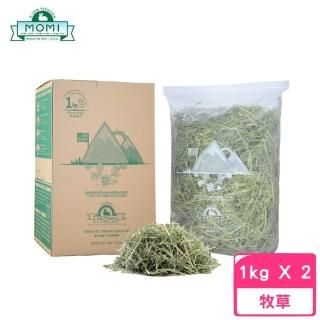 【MOMI 摩米】特級苜蓿草 1kg(2包組)