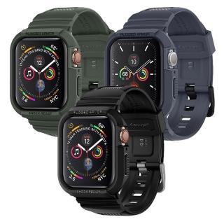 【Spigen】Apple Watch Series 5/4 Rugged Armor Pro-防摔保護殼專業版
