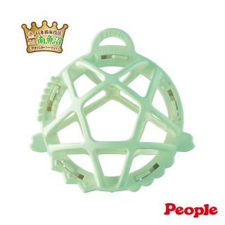 【People】彩色米的洞洞球玩具-柔軟(日本製/新生兒/固齒器)