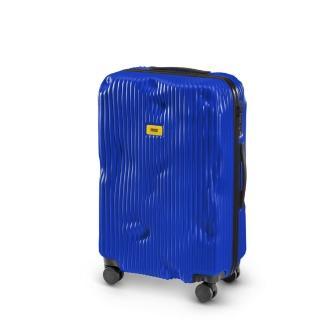 【義大利Crash Baggage】條紋防撞行李箱25吋(寶藍)