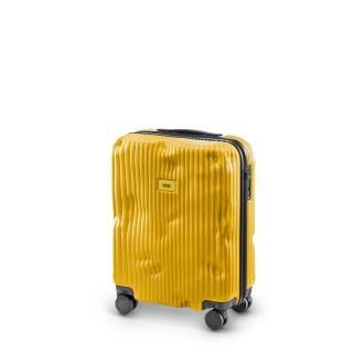 【義大利Crash Baggage】條紋防撞行李箱20吋(經典黃)
