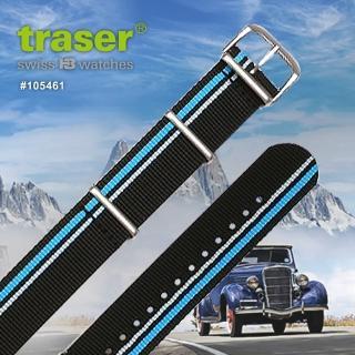 【TRASER】Textile_Strap_black