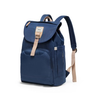 【Heine 海恩】Heine 海恩 WIN-212 休閒後背包 媽咪包 防盜包(靛藍)