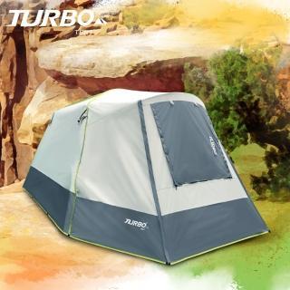 【Turbo Tent】Nomad 270遊牧民族六人帳篷-2020強化版(30秒專利快速帳 全遮光 類 黑膠)