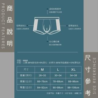 【Sun Flower三花】彈性貼身平口褲.四角褲.男內褲(買2送1件組)