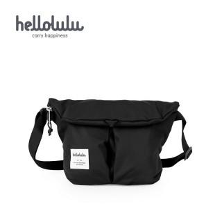 【hellolulu】MINI KASEN 輕旅戶外側背包-黑(50235-01)